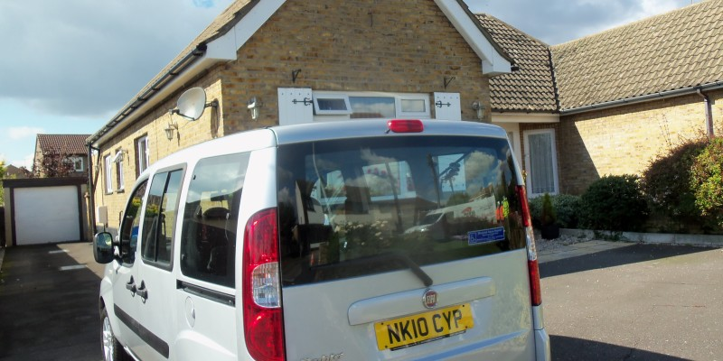 wheelchair accessible vehicles dorset