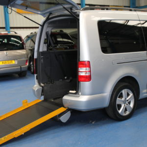 VW Caddy Maxi Wheelchair accessible car nk60