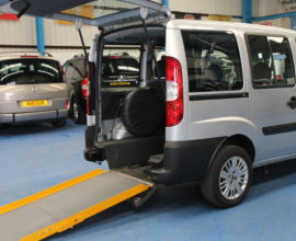Doblo Wheelchair accessible vehicle nk09esg