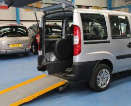 Doblo Wheelchair accessible vehicle nk09esg