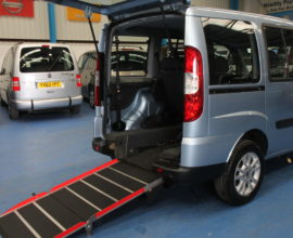 Fiat doblo wheelchair accessible car yy11yym