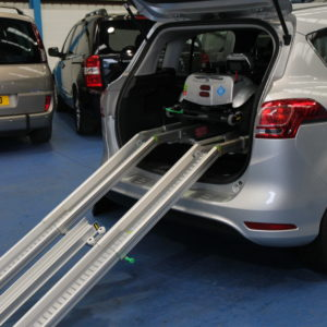 Auto Car With quingo self load mobility scooter