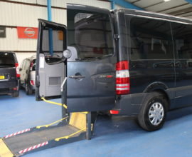 Mercedes Sprinter Automatic wheelchair van