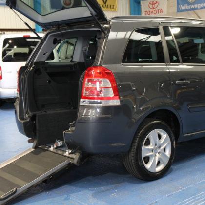 Vauxhall Petrol wheelchair car nx61rax