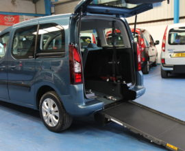 Citroen wheelchair access car sm12hbf