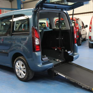 Citroen wheelchair access car sm12hbf