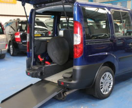Doblo Wheelchair accessible car ulz2471