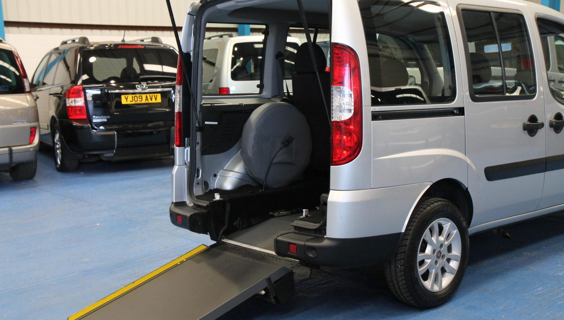 Fiat doblo wheelchair accessible car wu10wwe