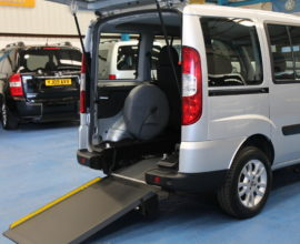 Fiat doblo wheelchair accessible car wu10wwe