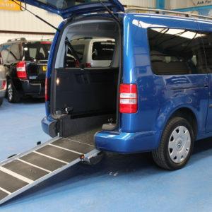 VW Caddy Maxi Wheelchair accessible car yn61