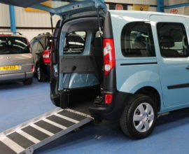 Kangoo Auto Wheelchair access car yj61ocb
