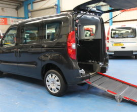 New Shape doblo Wheelchair accessible vehicle yx12ewm