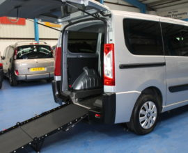 Peugeot Expert Wheelchair vehicles g61avd