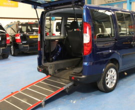 doblo wheelchair accessible car yx10wbe