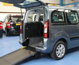 Citroen wheelchair access car sl13bzf