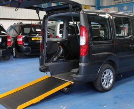 Doblo Wheelchair accessible car nk60
