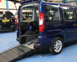 Doblo Wheelchair accessible car ro59axd