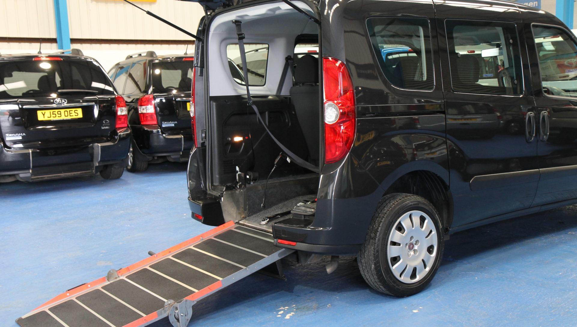 New Shape doblo Auto Wheelchair accessible car