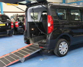 New Shape doblo Auto Wheelchair accessible car