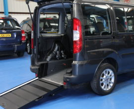 Doblo Wheelchair accessible car rv10pdy