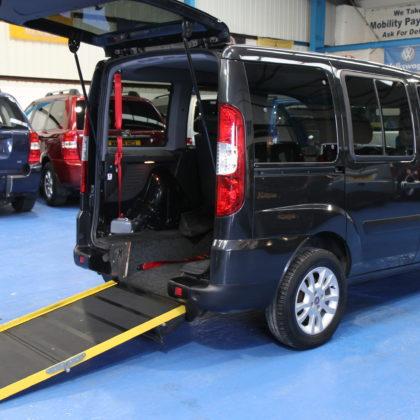 Doblo Wheelchair accessible car yn58