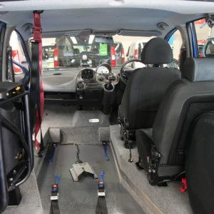 Fiat Multipla Wheelchair rides upfront car rx08