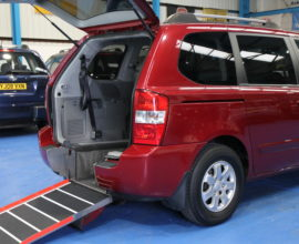 Kia sedona Auto Wheelchair car mm59hgl