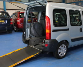 Kangoo Wheelchair access car lx07lfs