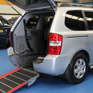Kia sedona Wheelchair access car yj09azv