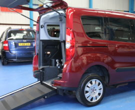 New Shape doblo Wheelchair accessible car yx14dfa