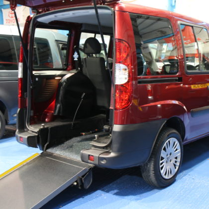 Doblo Wheelchair access car sp07ehc
