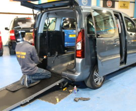 Citroen Berlingo Wheelchair access car dxz5053