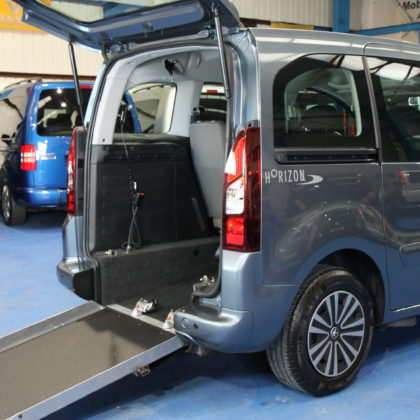 Peugeot Partner Wheelchair adapted car sf62gjv