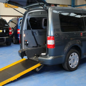 VW Caddy Maxi Wheelchair accessible car nk10