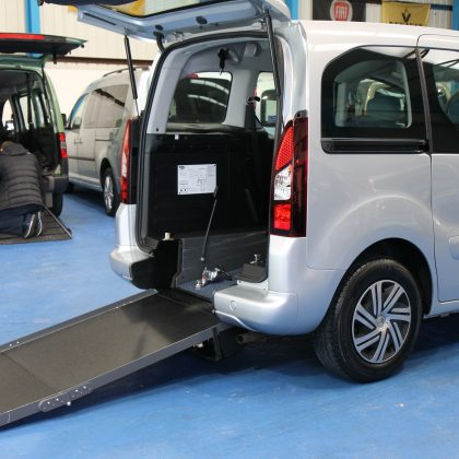 Citroen Berlingo Wheelchair adapted car sm14ohp