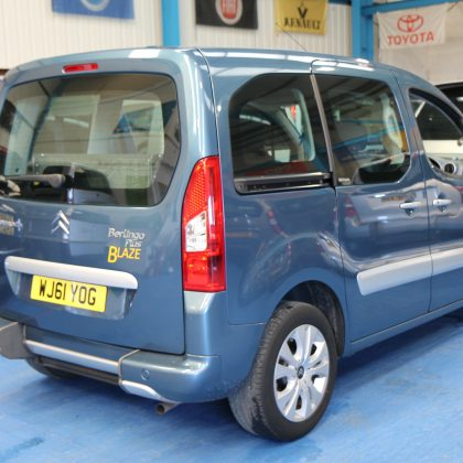 Berlingo Wheelchair access vehicle wj61yog