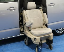 Toyota Wheelchair adapted car with power lift