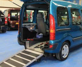 Kangoo auto light wheelchair ramp dk07