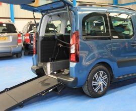 Berlingo Auto wheelchair Car yn13cdk