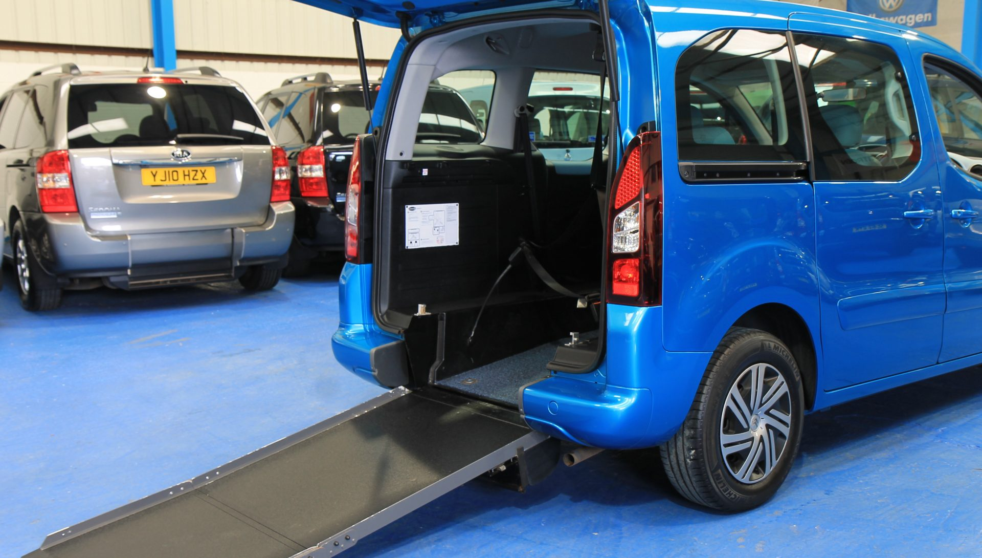 Berlingo Wheelchair access vehicle sn63jzn