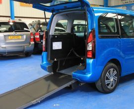 Berlingo Wheelchair access vehicle sn63jzn