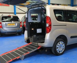New Shape doblo Wheelchair car yy62ott