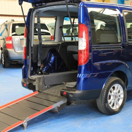 Fiat doblo wheelchair accessible car yx60rdu