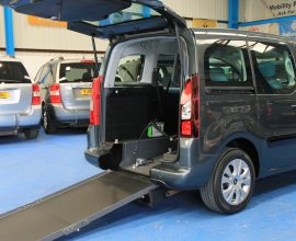 Berlingo Wheelchair adapted vehicle sm63