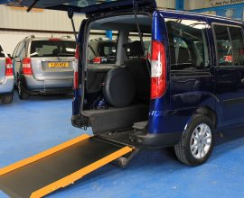Doblo Wheelchair accessible vehicle nk09