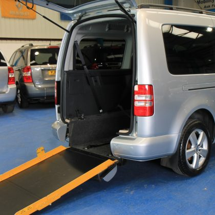 VW Caddy Maxi Wheelchair accessible car dx