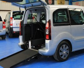 Berlingo Wheelchair access vehicle vui1227