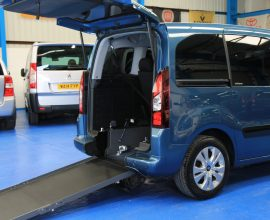 Berlingo Wheelchair adapted vehicle dxz6635