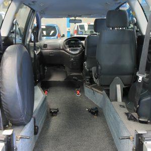 Toyota Previa Auto Wheelchair upfront