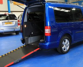 Caddy Wheelchair accessible vehicle exz31